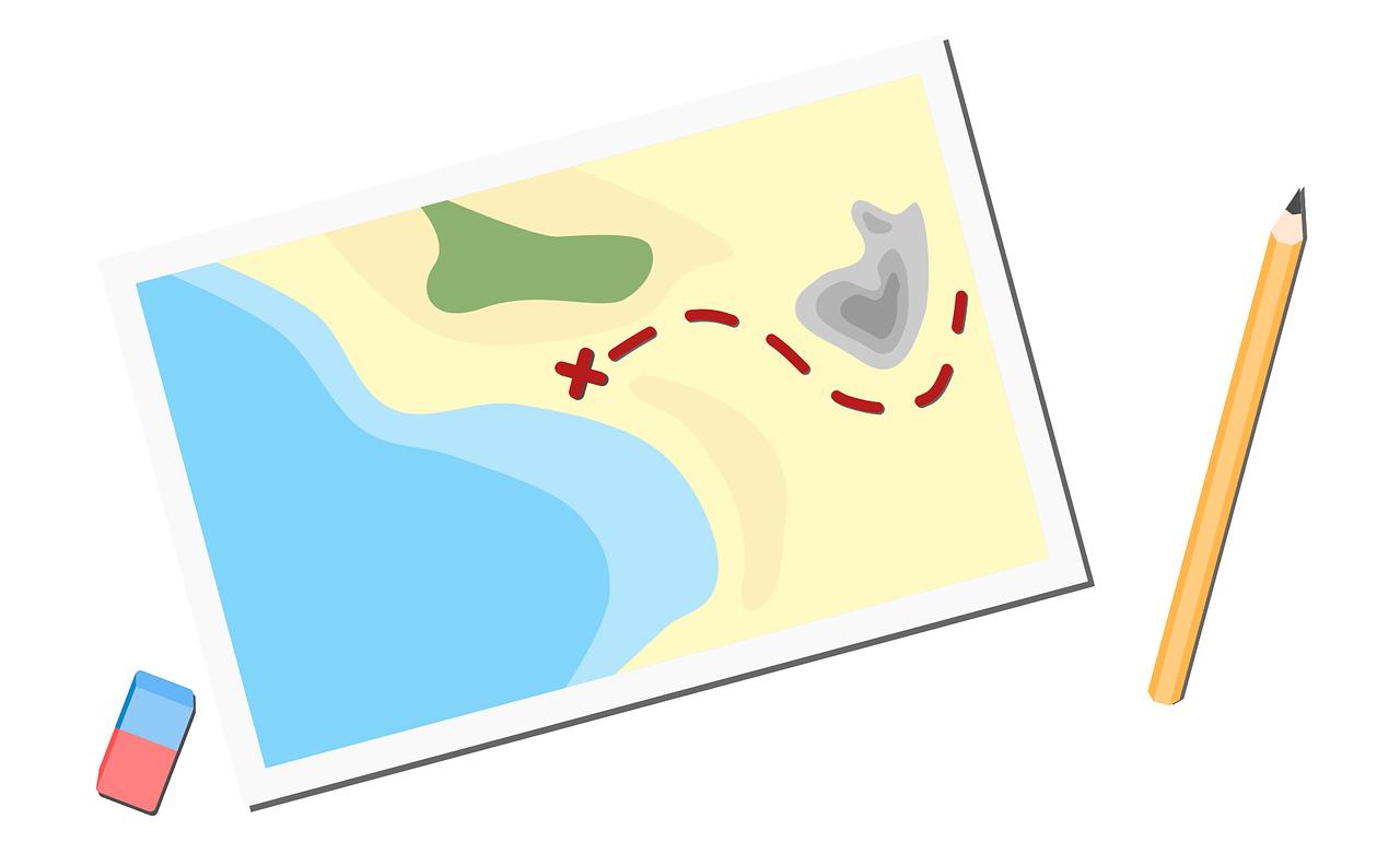IELTSライティングTask1の地図(マップ)問題の書き方と対策