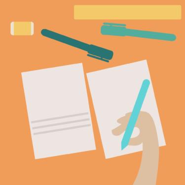 IELTS ライティング 解答用紙の書き方解説